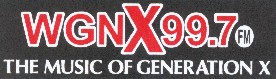 Click here for the WGNX 99.7 FM Generation X Radio Station
